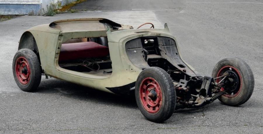 1937 Traction 7C cabriolet