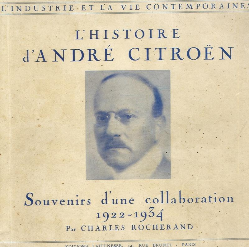 1938 André Citroën par Charles Rocherand