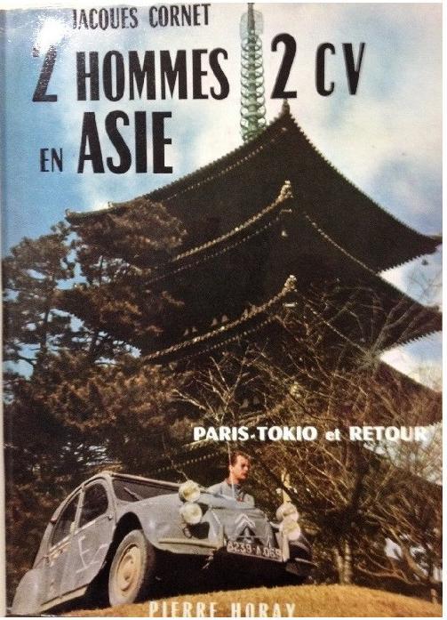 1957 2 hommes 2CV en Asie