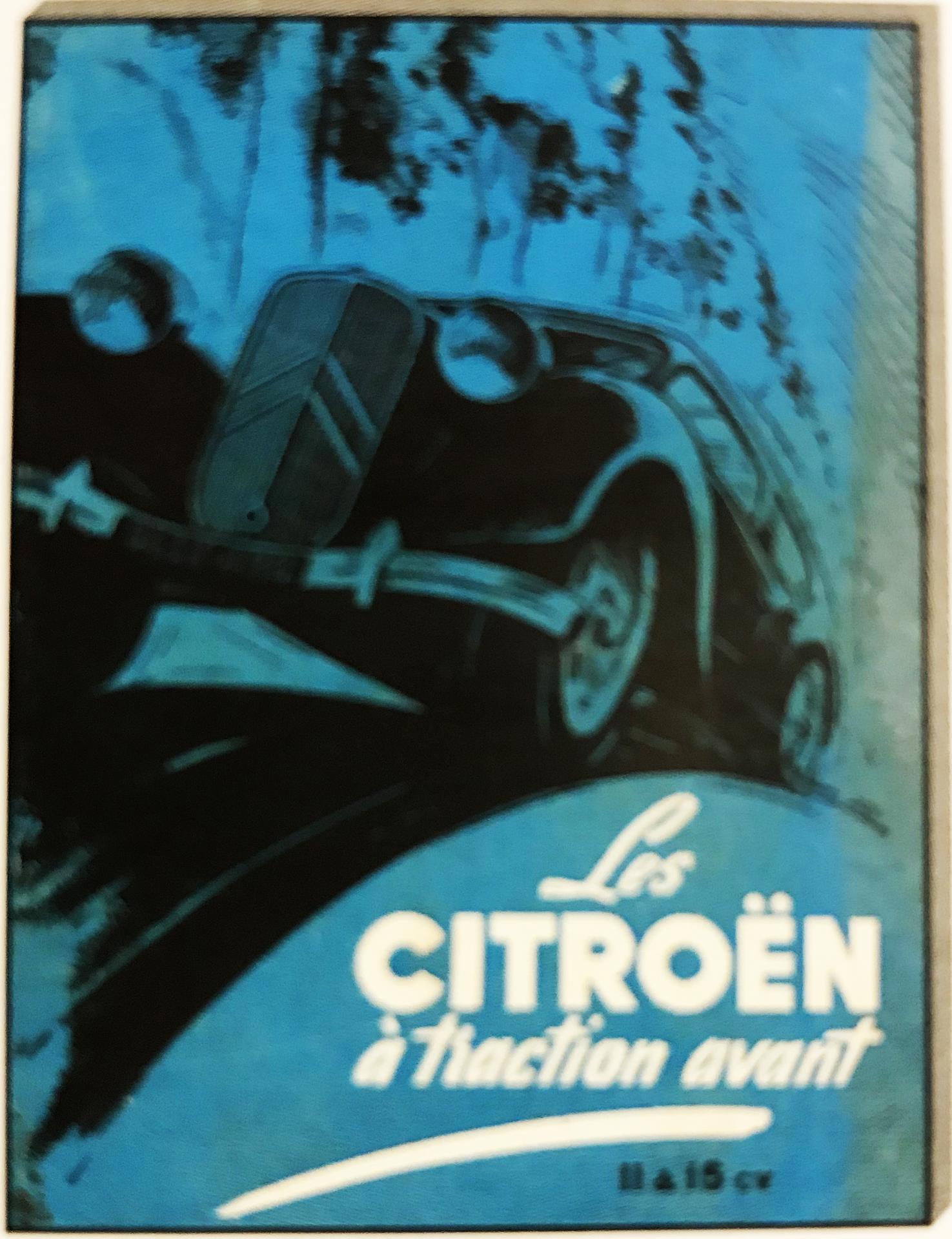 1959 La Citroën à Traction Avant
