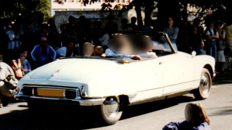 1965 Citroën DS21 cabriolet usine