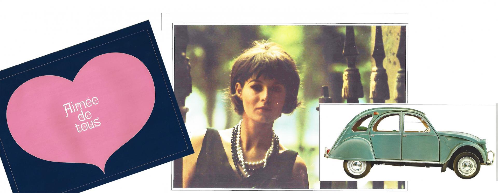 1965 illustration catalogue 2CV Aimée de tous
