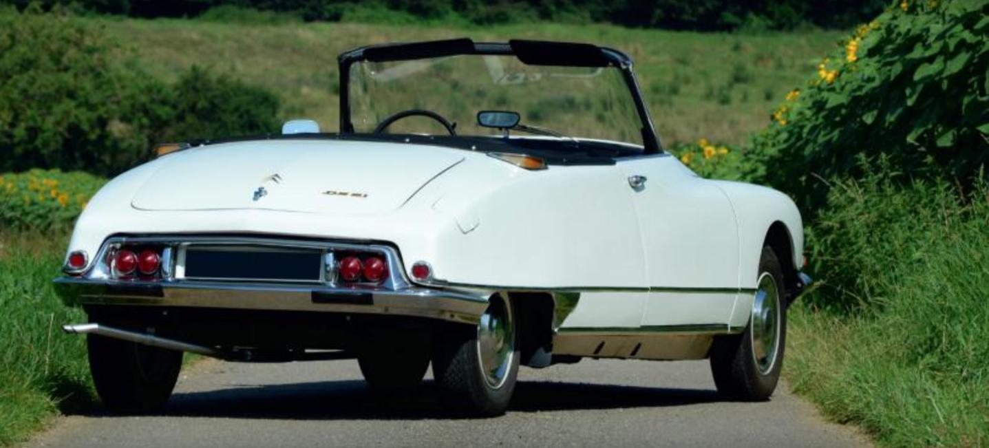 1968 DS21 cabriolet Chapron