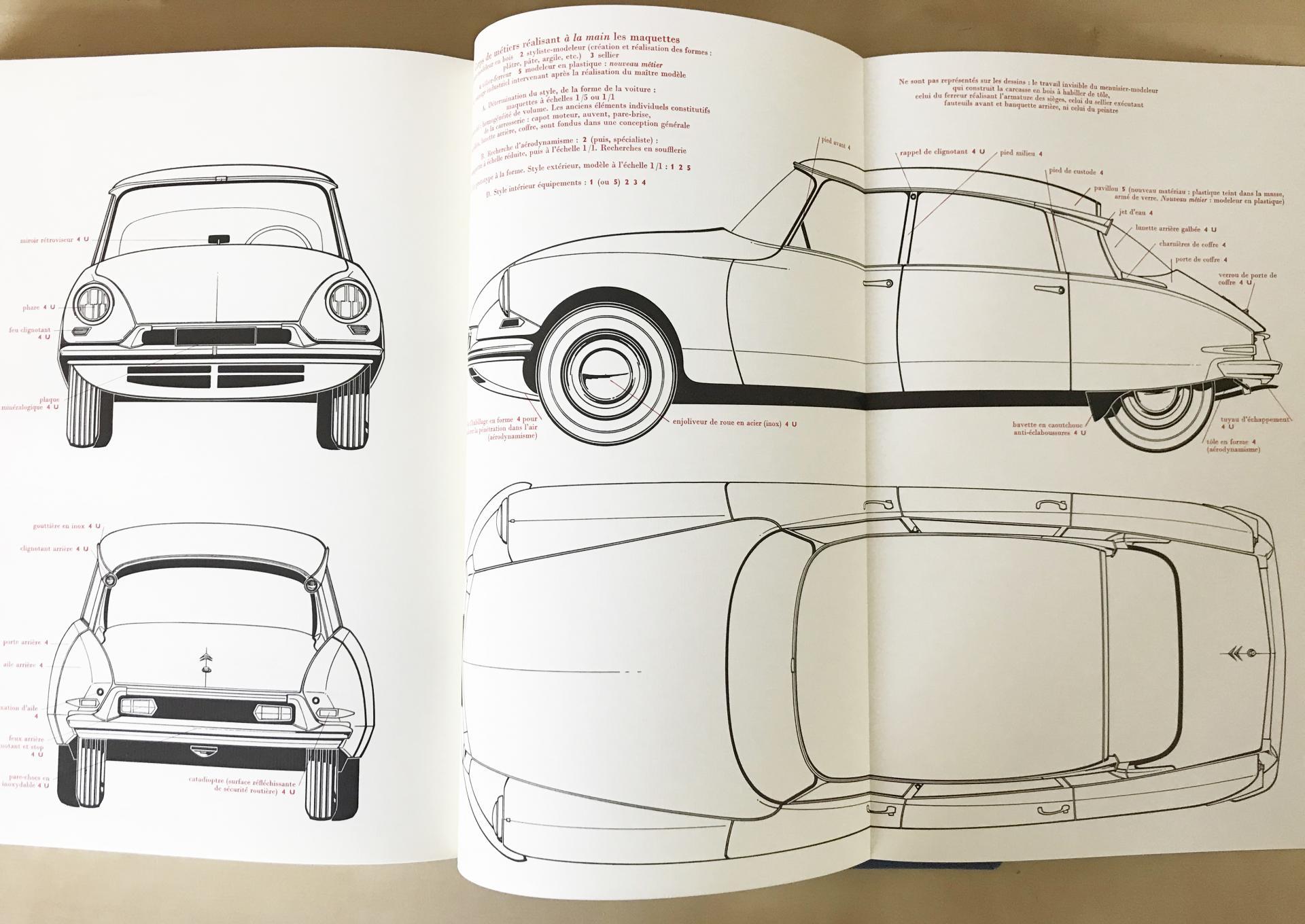 1971 Encyclopedie des métiers la Carrosserie 4 volumes
