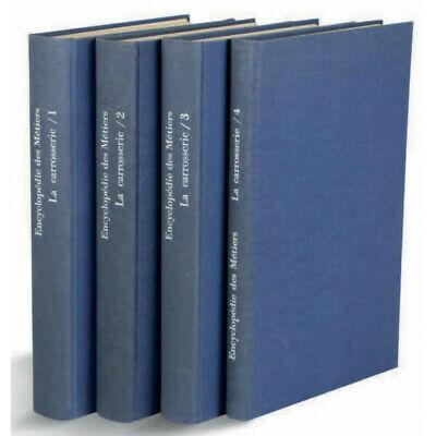 1971 Encyclopédie des métiers de la carrosserie 4 volumes