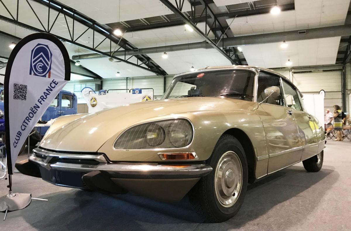 Auto Moto Rétro 2020 - DS Pallas 1972