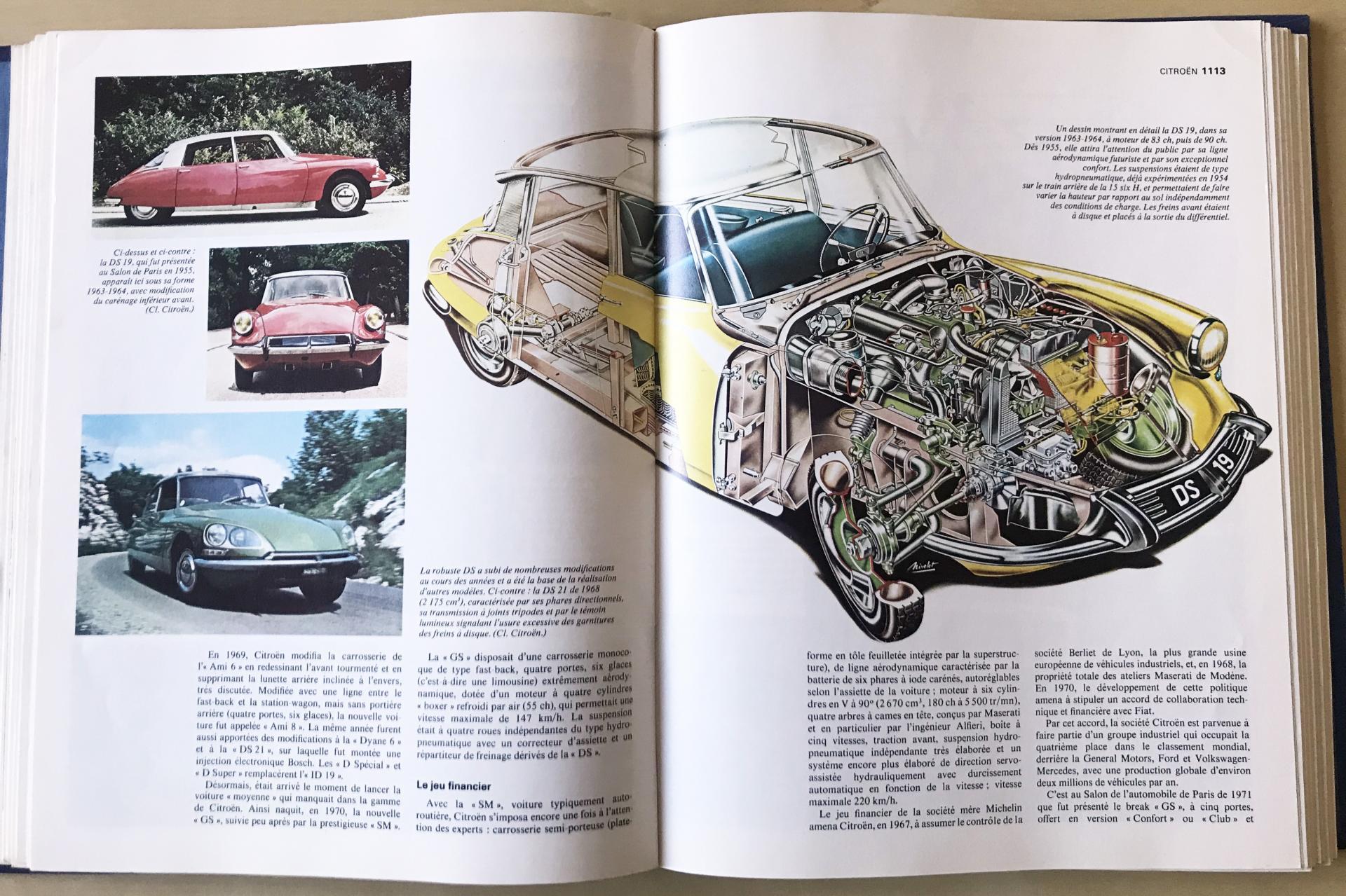 1976 Alpha auto - Planche DS