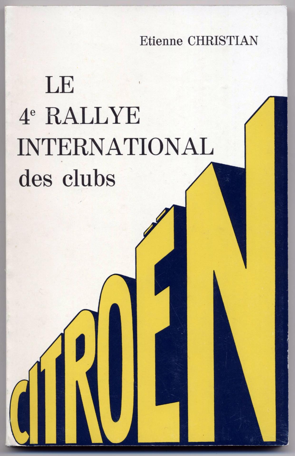 1978 Livre 4eme ICCCR Chartres