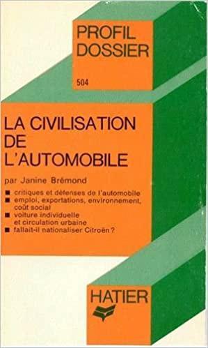 1980 La civilisation de l'Automobile
