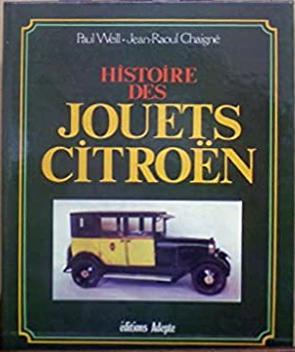 1981 Les jouets Citroën
