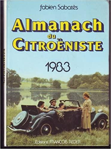 1983 Almanach du Citroeniste