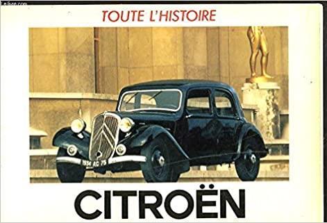 1983 CITROËN L'histoire des grandes marques automobiles