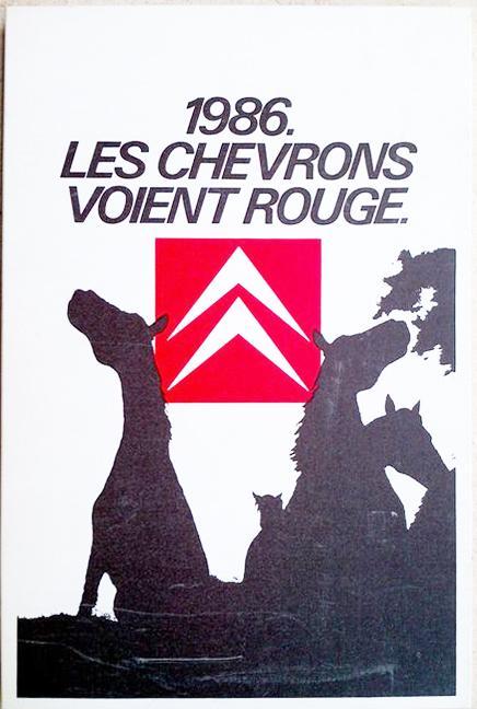 1986 Les chevrons voient rouge