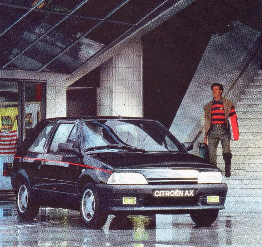 Juillet 1991 AX GT Phase 2