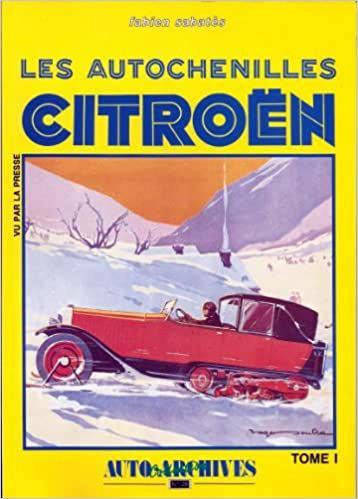 1988 Les autochenilles Citroën