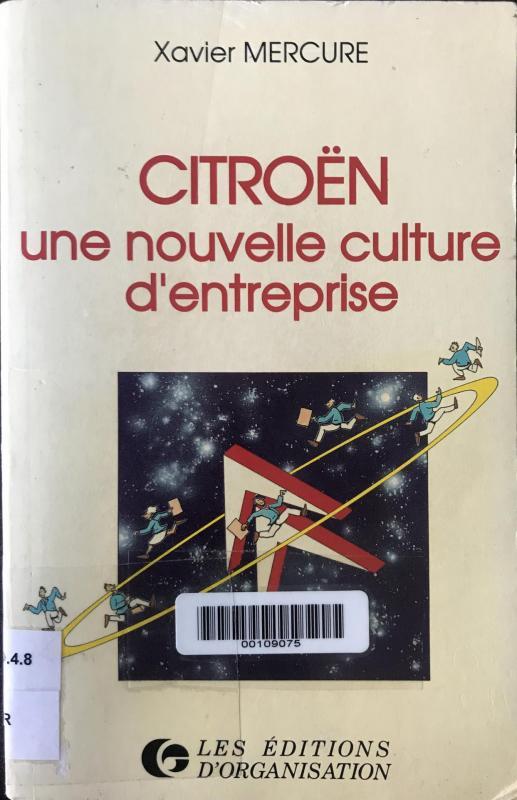 1989 Citroën une nouvelle culture d'entreprise