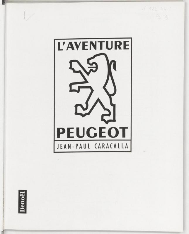 1990 L'Aventure Peugeot