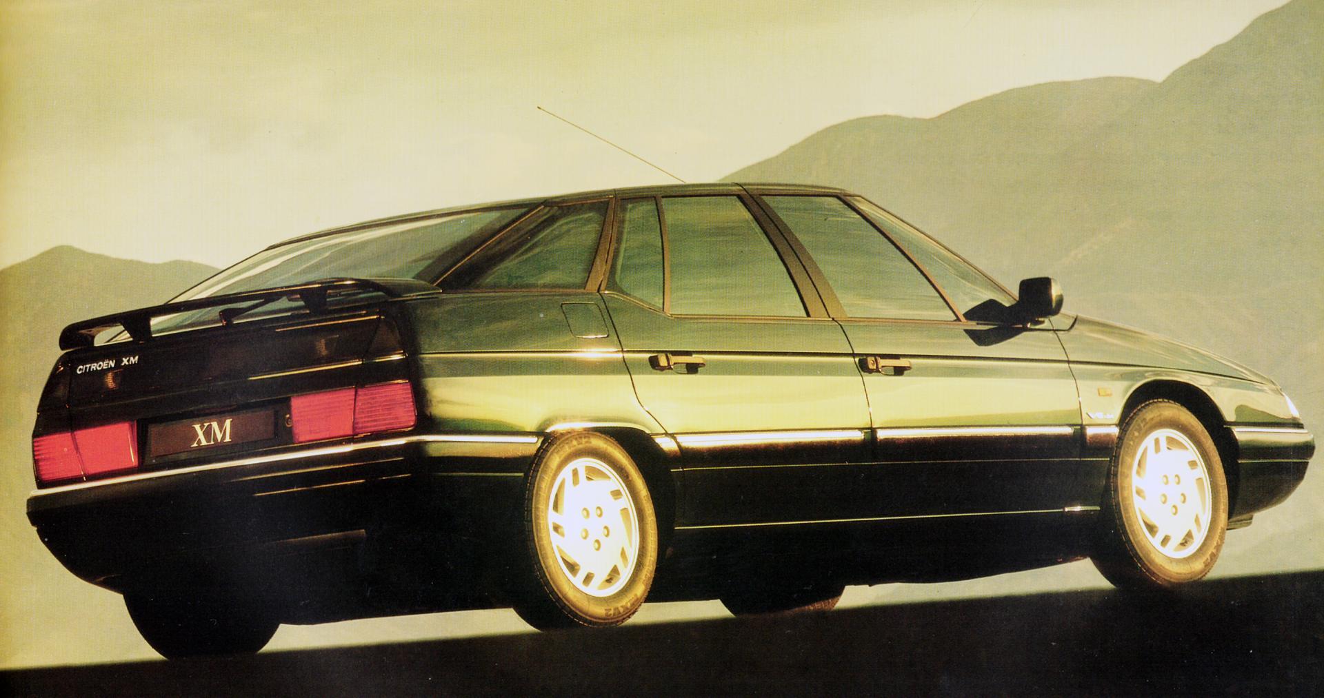 1990 CITROËN XM V6 24 Soupapes