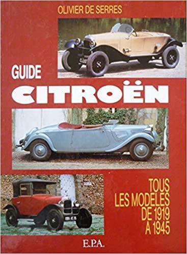 1991 Guide Citroën, tous les modéles de 1946 à 1975