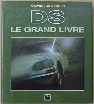 1992 Citroën DS le grand livre