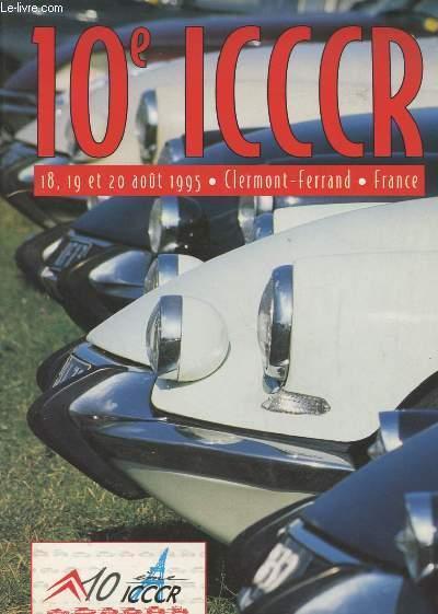 1995 10 ème ICCCR Clermont Ferrand