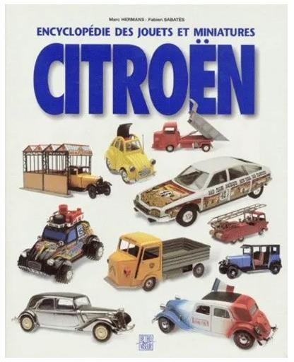 1995 Encyclopédie jouets Citroën