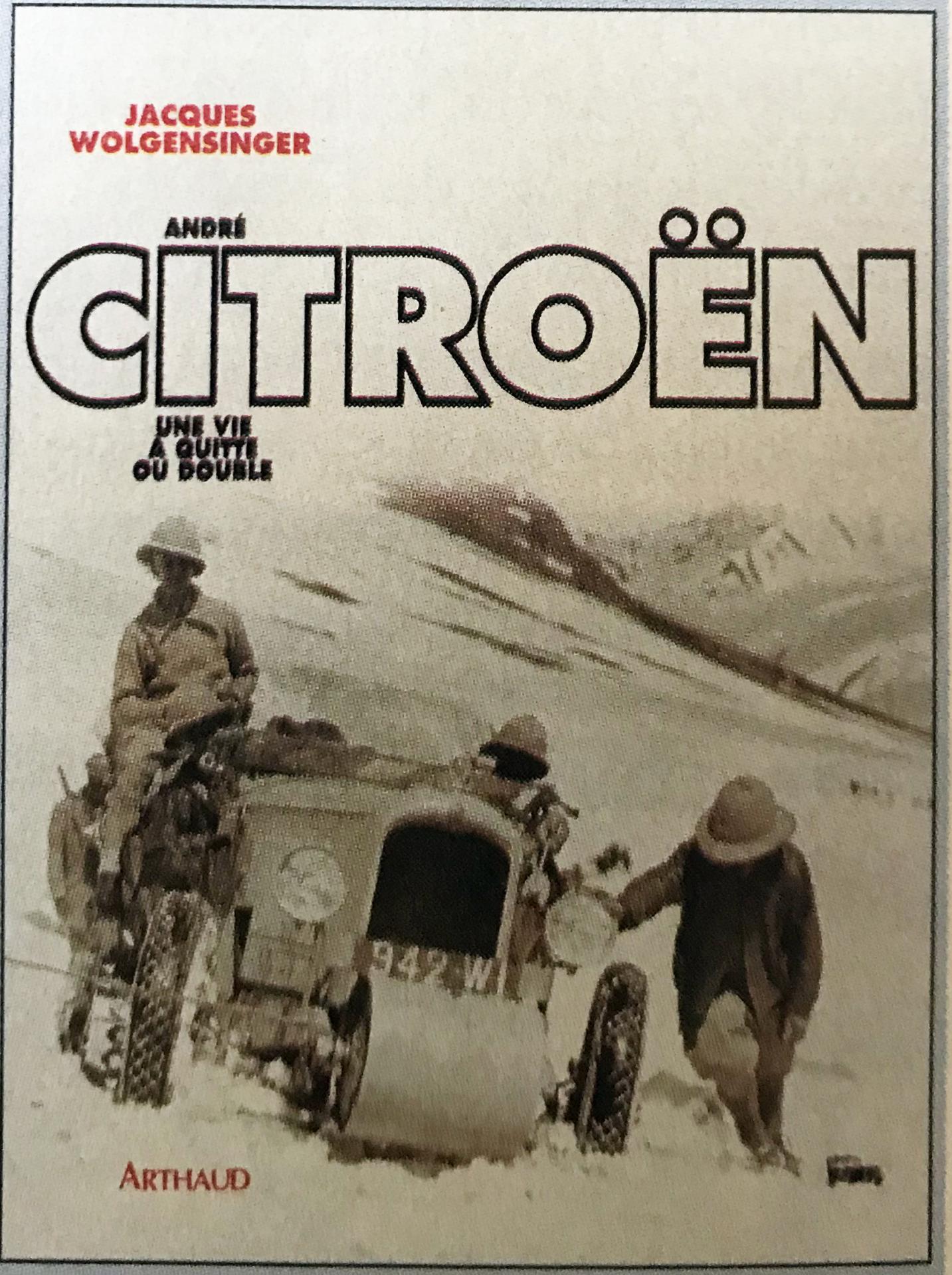 1996 André Citroën - Une vie à quitte ou double