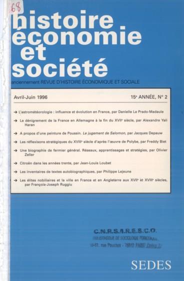 1996 Citroën dans les années trente