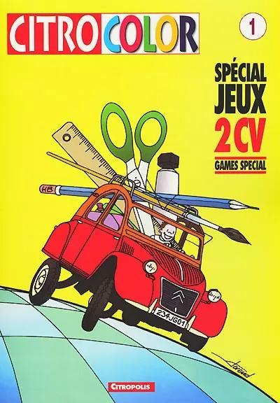 2000 CitroColor Spécial jeux 2CV