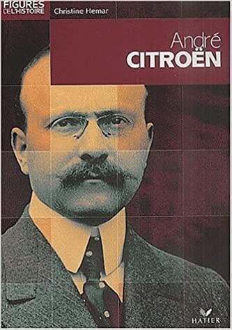 2002 Figures de l'histoire - André Citroën