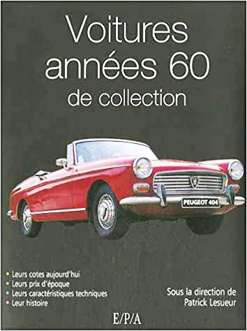 2006 Voitures années 60 de collection