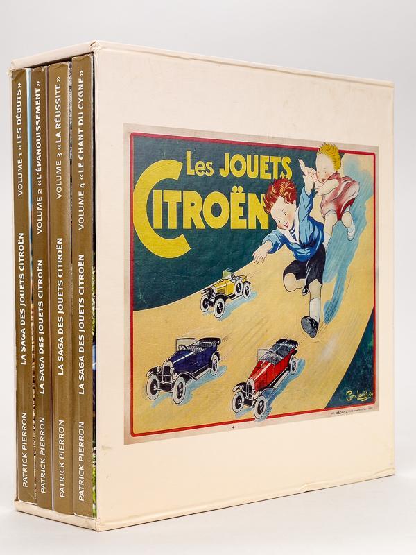 2009 La saga des jouets Citroën en 4 tomes