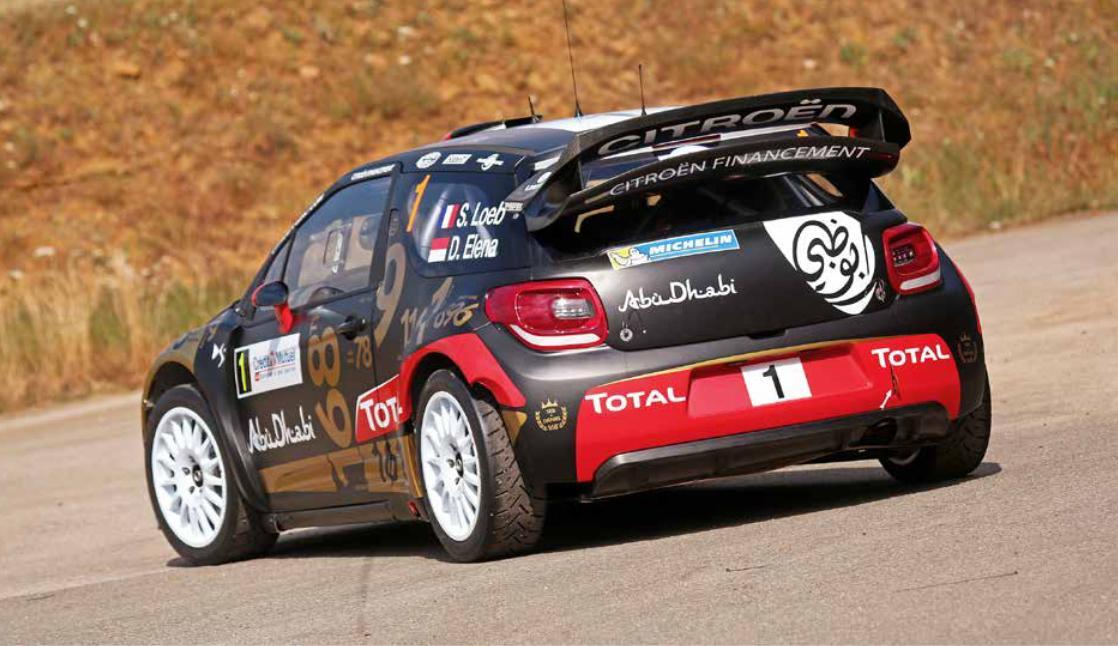 2011 Citroën DS 3 WRC Sébastien Loeb