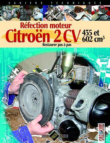 2013 Restauration moteur Citroën 435 et 602 cm3