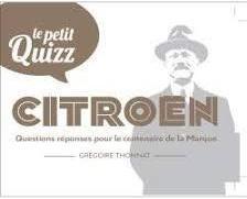 2019 Le petit Quizz Citroën