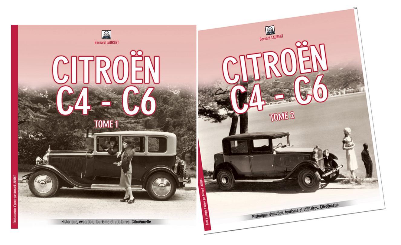 2020 Livres Citroën C4 C6 Bernard Laurent