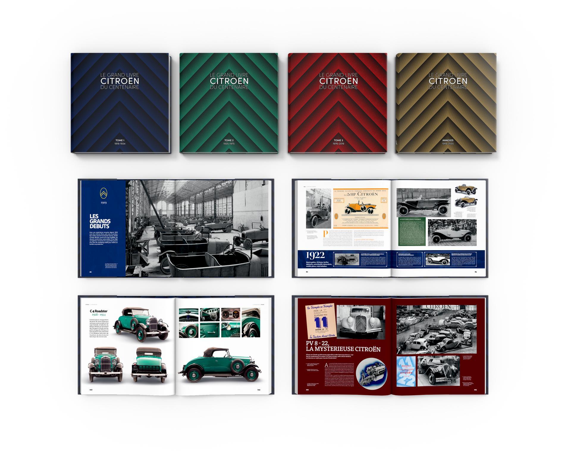 2020 Le Grand Livre Citroën 100 ans