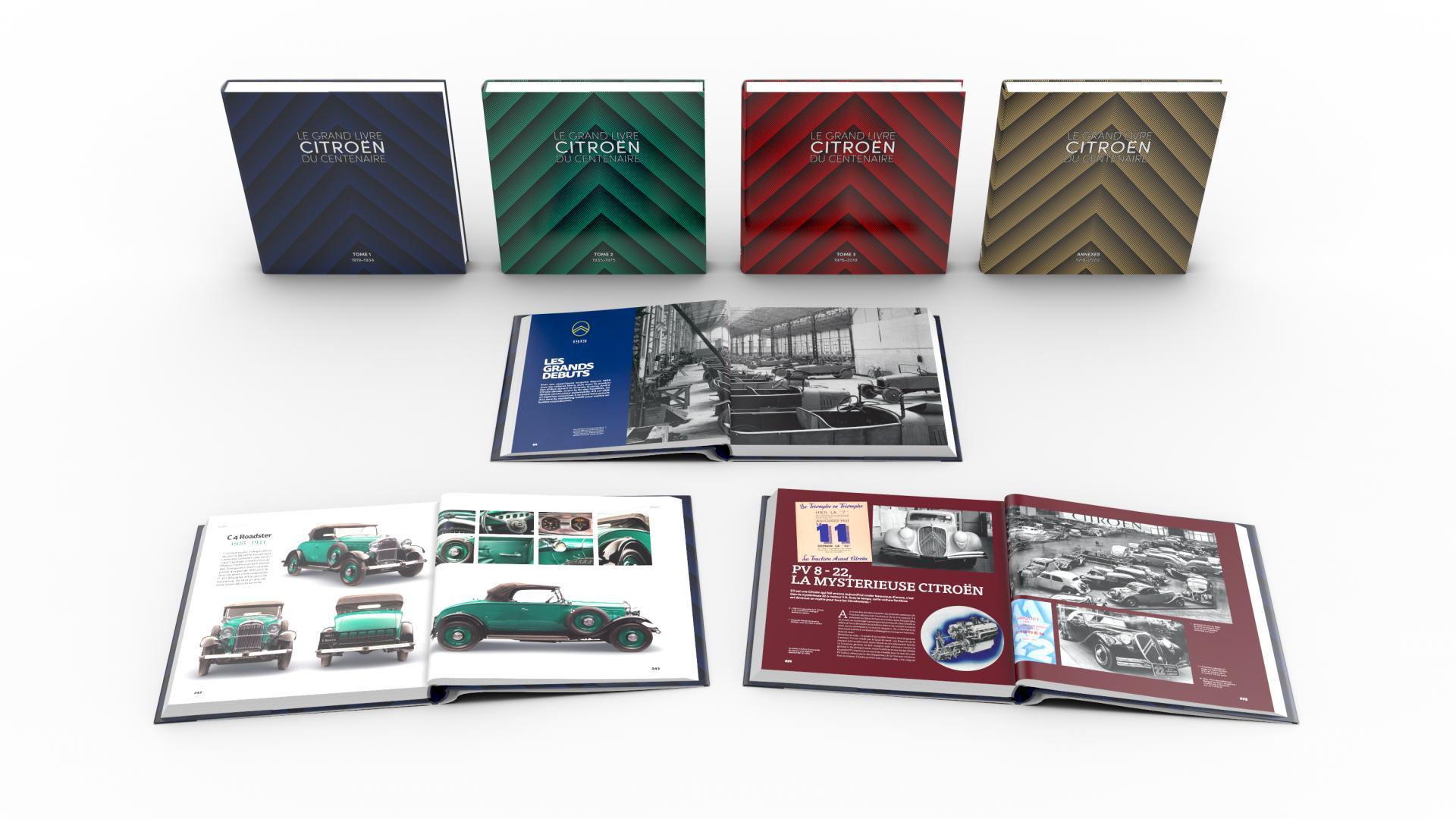 2020 Le Grand Livre Citroën100 ans