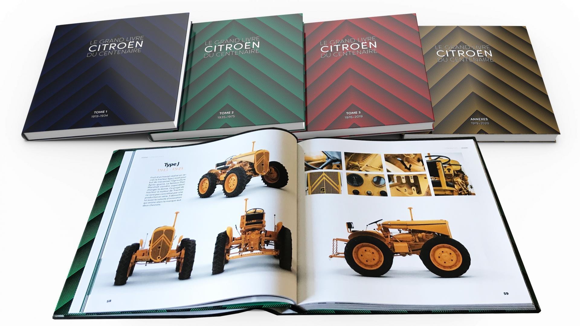 2020 Le Grand Livre Citroën