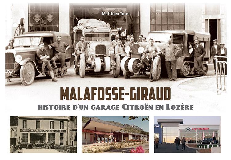 2020 Malafosse-Giraud histoire d un garage Citroën en Lozère 1