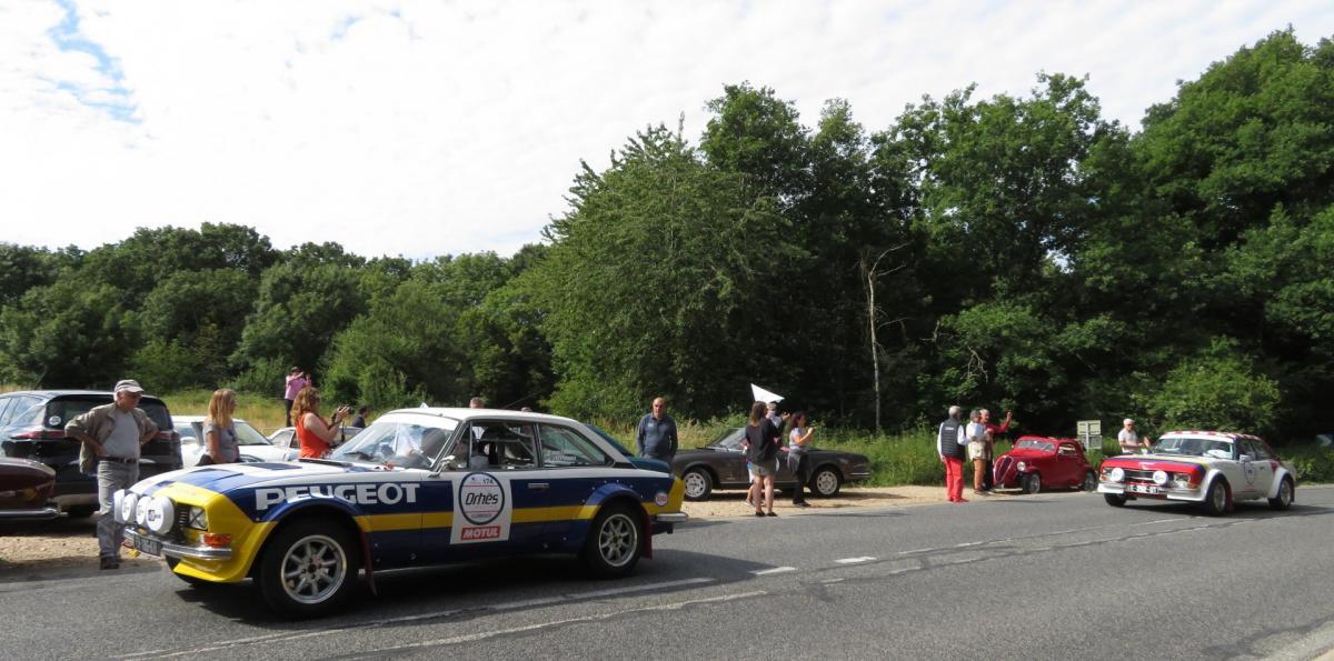 2020 Rallye du Coeur à Voisins le Bretonneux 78