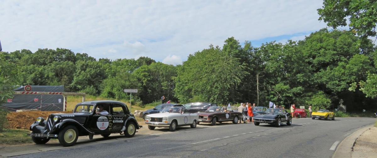 2020 Passage Rallye du Coeur à Voisins le Bretonneux 78