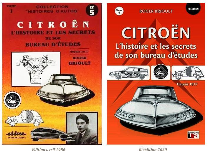 2020 Réédition Citroën L'Histoire et les secrets de son bureau d'études