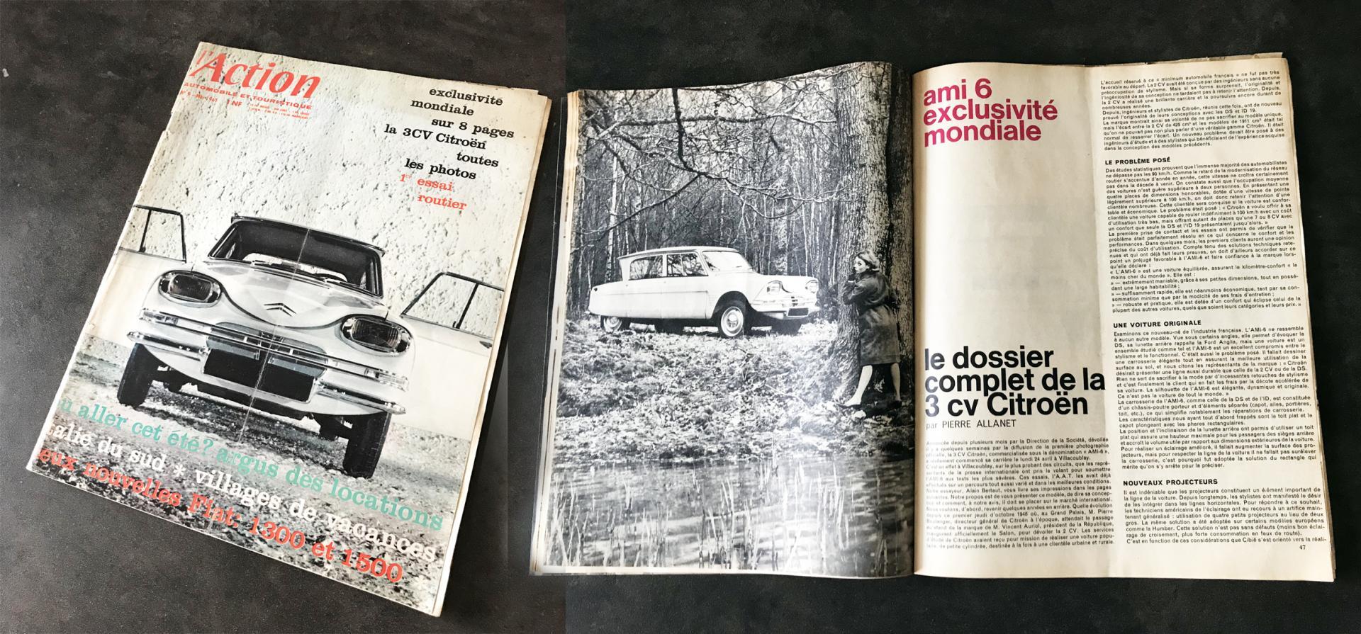 Action Automobile et Touristique  n° 9 mars 1961
