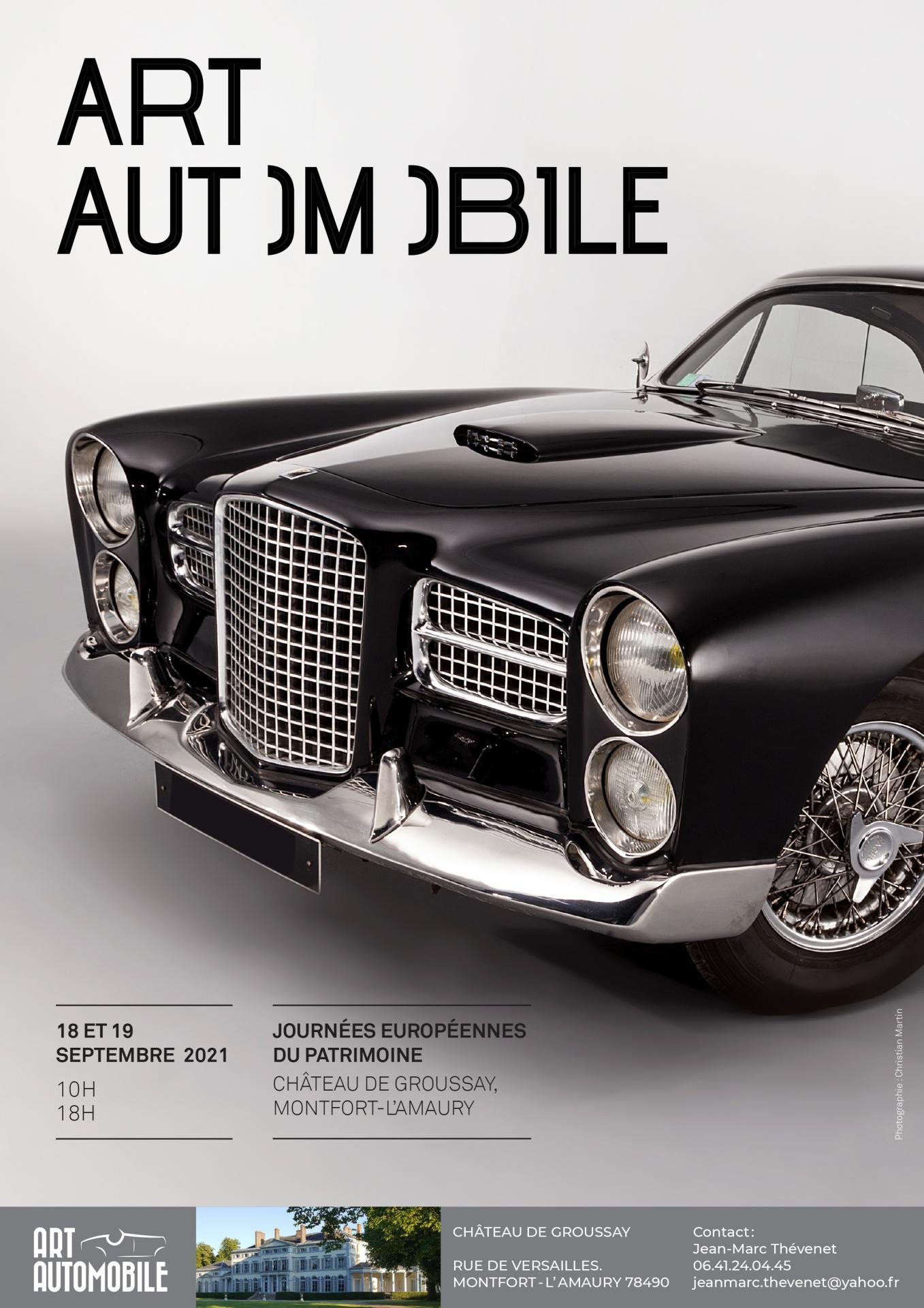 Affiche art automobile 2021 1