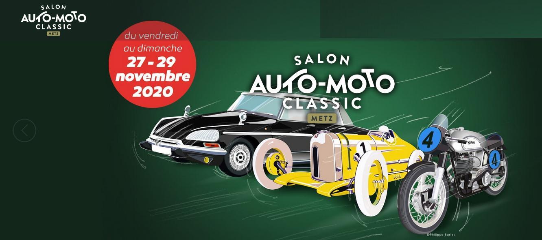 Affiche auto moto classic metz 2020