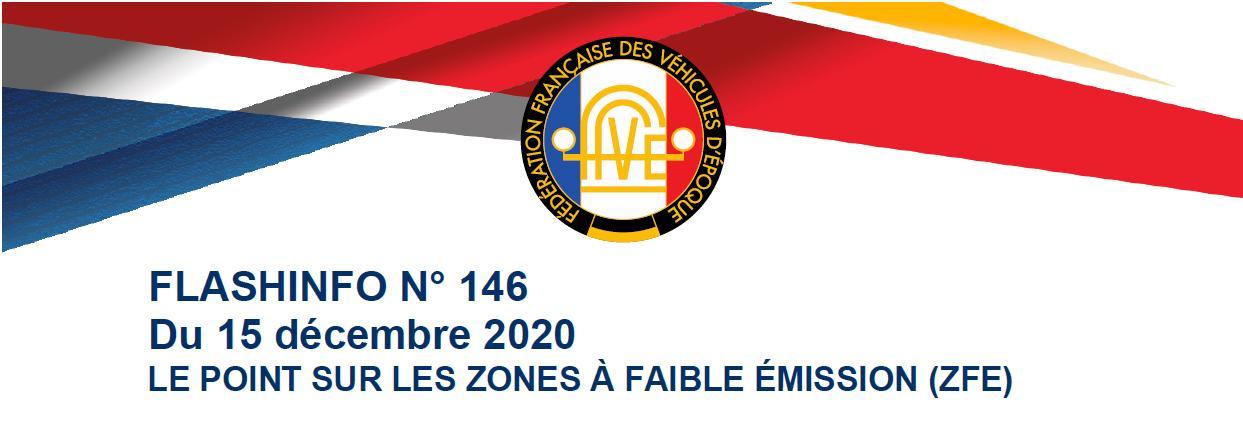 Bandeau Flash info FFVE 146
