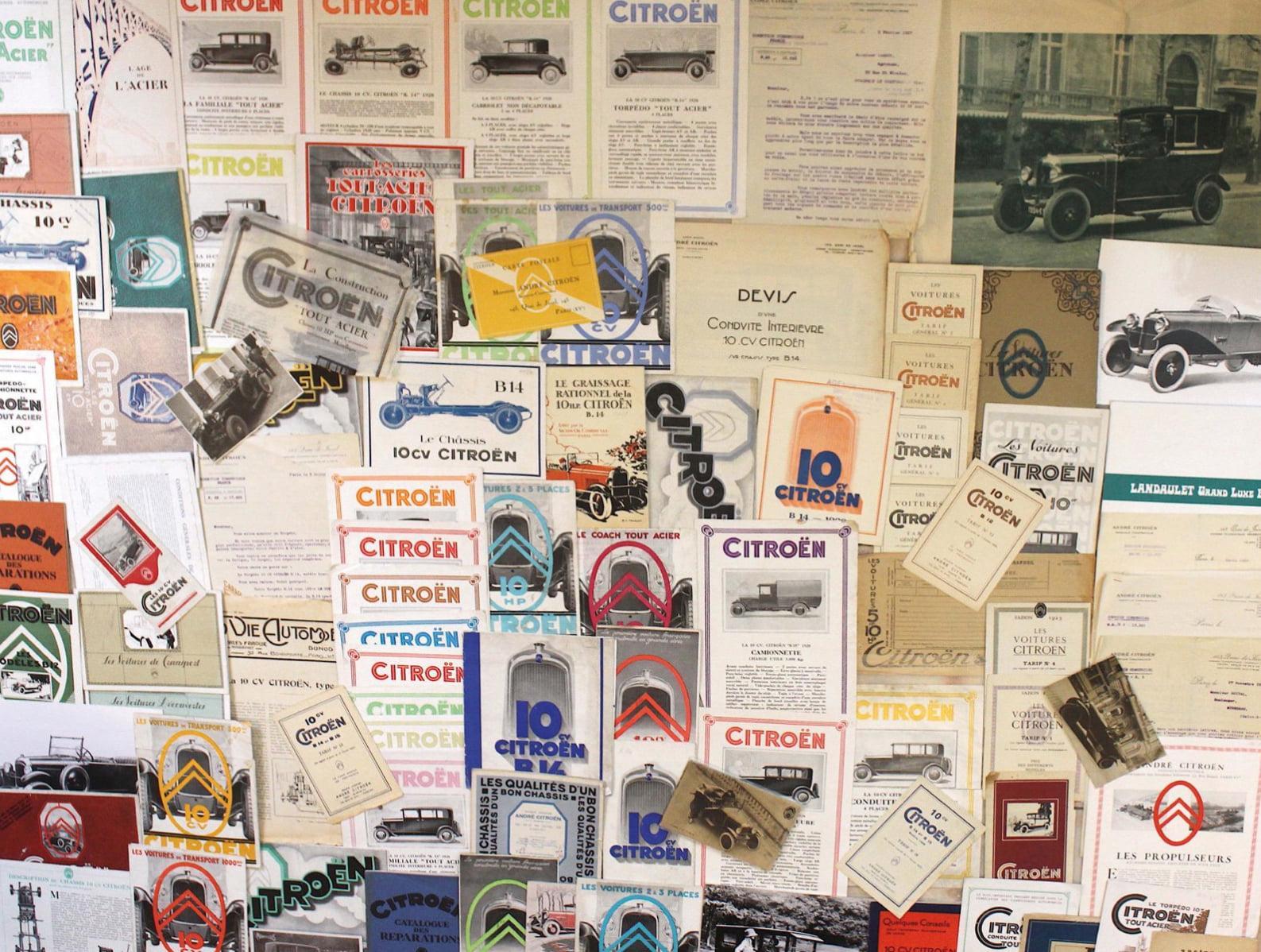 Catalogues Citroën référencés AC