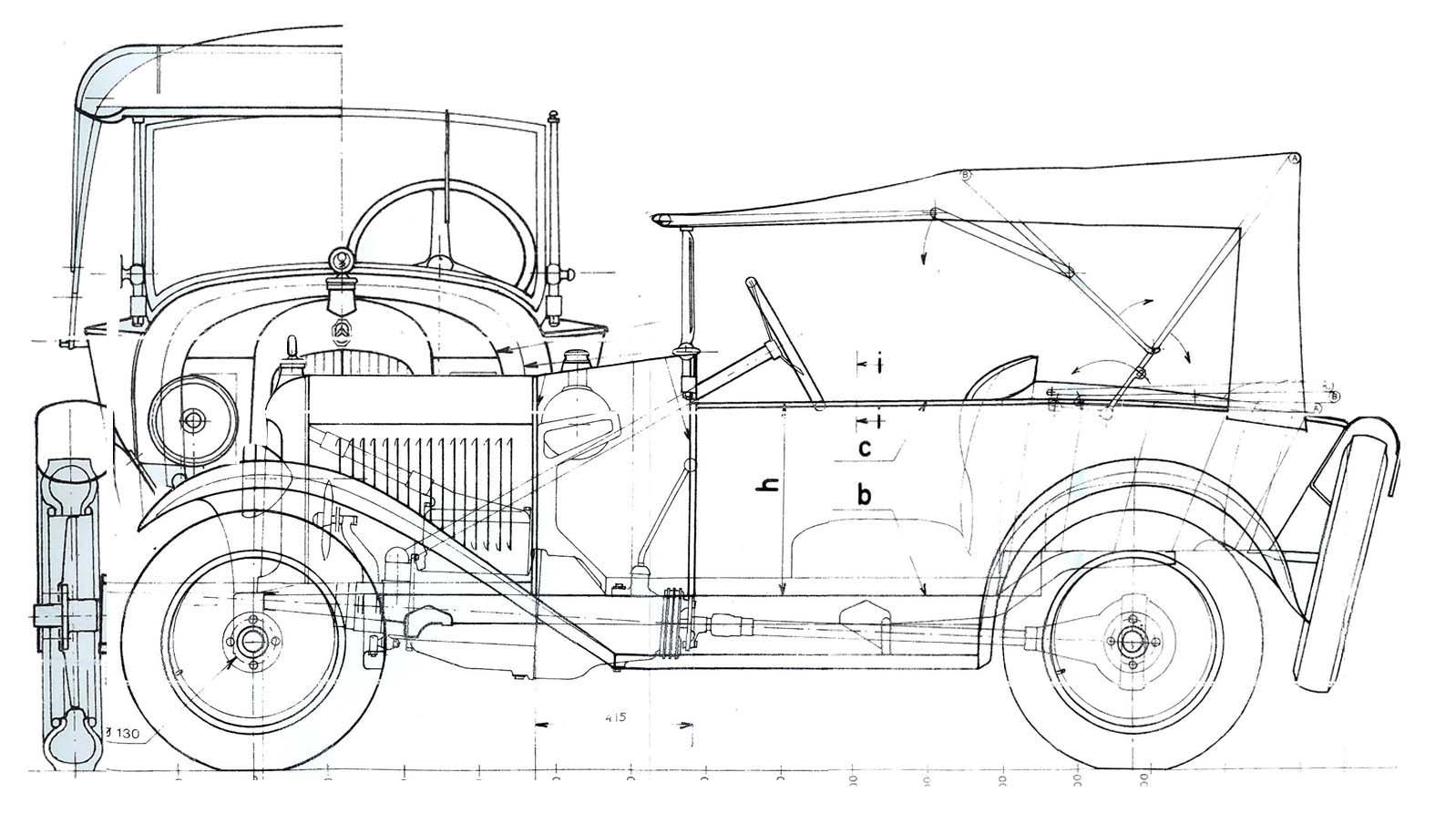 1923 Plan Citroën C3