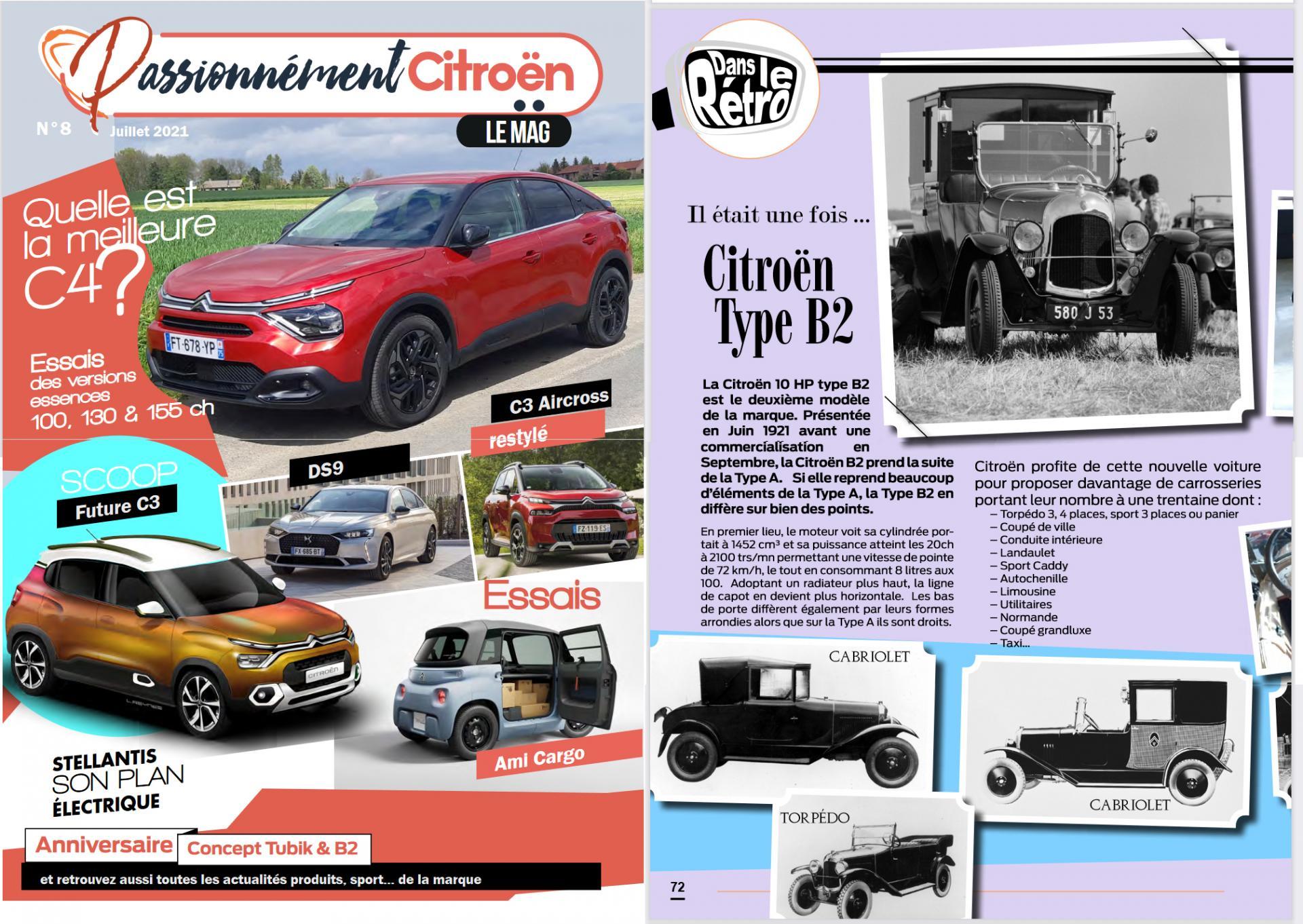 Passionnément Citroën n°8